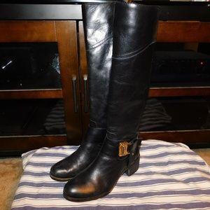 Vince Camuto Finella Black Boots
